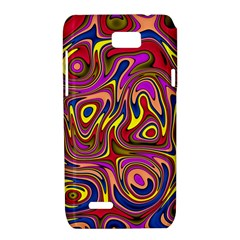 Abstract Shimmering Multicolor Swirly Motorola XT788