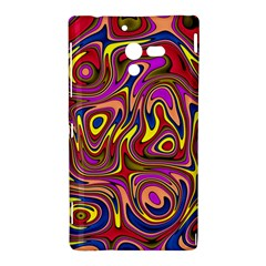 Abstract Shimmering Multicolor Swirly Sony Xperia ZL (L35H)
