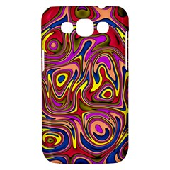 Abstract Shimmering Multicolor Swirly Samsung Galaxy Win I8550 Hardshell Case