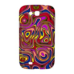 Abstract Shimmering Multicolor Swirly Samsung Galaxy Grand GT-I9128 Hardshell Case
