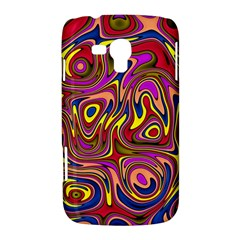 Abstract Shimmering Multicolor Swirly Samsung Galaxy Duos I8262 Hardshell Case