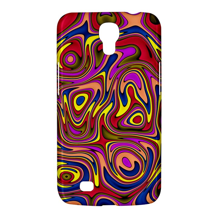 Abstract Shimmering Multicolor Swirly Samsung Galaxy Mega 6.3  I9200 Hardshell Case