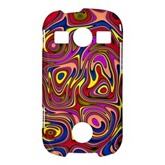 Abstract Shimmering Multicolor Swirly Samsung Galaxy S7710 Xcover 2 Hardshell Case