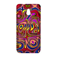 Abstract Shimmering Multicolor Swirly HTC One Mini (601e) M4 Hardshell Case