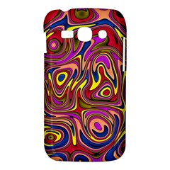 Abstract Shimmering Multicolor Swirly Samsung Galaxy Ace 3 S7272 Hardshell Case