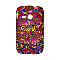 Abstract Shimmering Multicolor Swirly Samsung Galaxy S6310 Hardshell Case