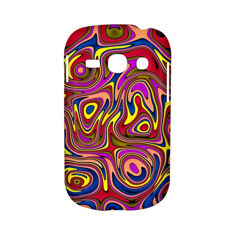 Abstract Shimmering Multicolor Swirly Samsung Galaxy S6810 Hardshell Case