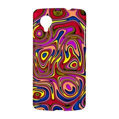Abstract Shimmering Multicolor Swirly LG Nexus 5