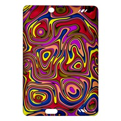 Abstract Shimmering Multicolor Swirly Amazon Kindle Fire Hd (2013) Hardshell Case