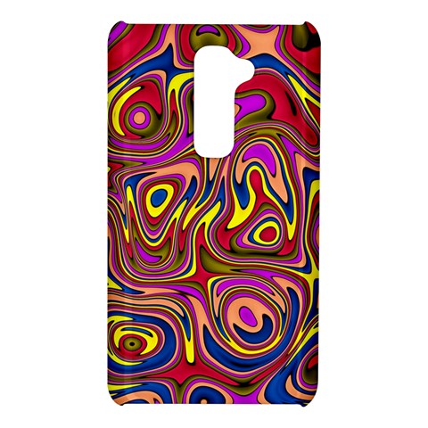 Abstract Shimmering Multicolor Swirly LG G2
