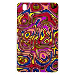 Abstract Shimmering Multicolor Swirly Samsung Galaxy Tab Pro 8 4 Hardshell Case