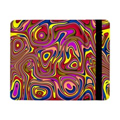 Abstract Shimmering Multicolor Swirly Samsung Galaxy Tab Pro 8 4  Flip Case