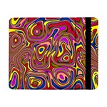 Abstract Shimmering Multicolor Swirly Samsung Galaxy Tab Pro 8.4  Flip Case Front