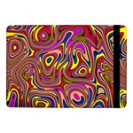Abstract Shimmering Multicolor Swirly Samsung Galaxy Tab Pro 10.1  Flip Case Front
