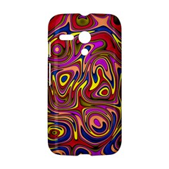 Abstract Shimmering Multicolor Swirly Motorola Moto G