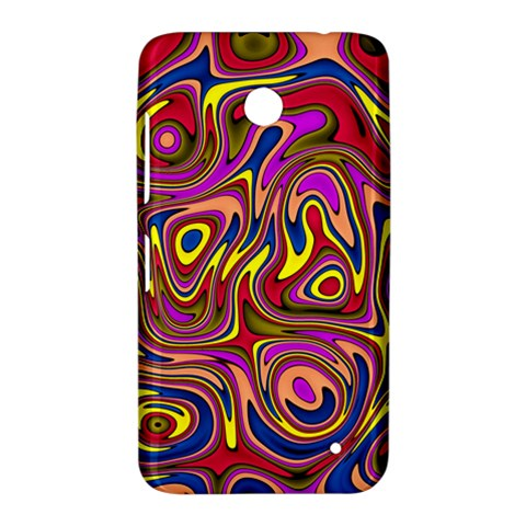 Abstract Shimmering Multicolor Swirly Nokia Lumia 630