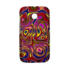 Abstract Shimmering Multicolor Swirly Motorola Moto E