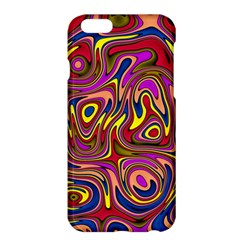 Abstract Shimmering Multicolor Swirly Apple iPhone 6 Plus/6S Plus Hardshell Case