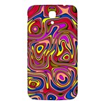 Abstract Shimmering Multicolor Swirly Samsung Galaxy Mega I9200 Hardshell Back Case Front