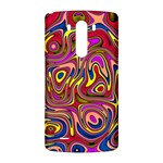 Abstract Shimmering Multicolor Swirly LG G3 Back Case Front