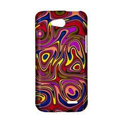 Abstract Shimmering Multicolor Swirly LG L90 D410
