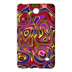 Abstract Shimmering Multicolor Swirly Samsung Galaxy Tab 4 (7 ) Hardshell Case