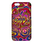Abstract Shimmering Multicolor Swirly iPhone 6/6S TPU Case Front