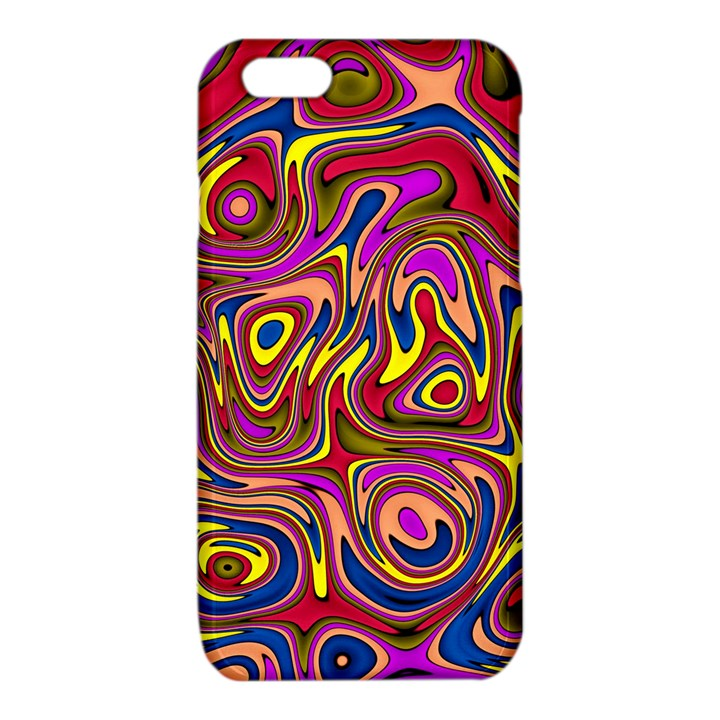 Abstract Shimmering Multicolor Swirly iPhone 6/6S TPU Case