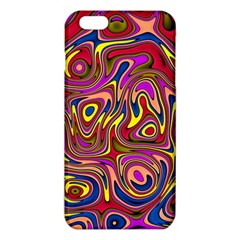 Abstract Shimmering Multicolor Swirly iPhone 6 Plus/6S Plus TPU Case