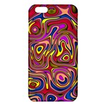 Abstract Shimmering Multicolor Swirly iPhone 6 Plus/6S Plus TPU Case Front