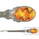 Fall Colors Leaves Pattern Letter Openers Front