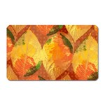 Fall Colors Leaves Pattern Magnet (Rectangular) Front