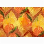 Fall Colors Leaves Pattern Collage Prints 18 x12 Print - 2