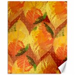 Fall Colors Leaves Pattern Canvas 16  x 20   20 x16 Canvas - 1