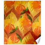 Fall Colors Leaves Pattern Canvas 20  x 24   24 x20 Canvas - 1