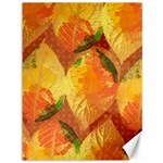 Fall Colors Leaves Pattern Canvas 36  x 48   48 x36 Canvas - 1