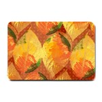 Fall Colors Leaves Pattern Small Doormat  24 x16 Door Mat - 1