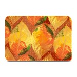 Fall Colors Leaves Pattern Plate Mats 18 x12 Plate Mat - 1