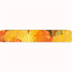 Fall Colors Leaves Pattern Small Bar Mats