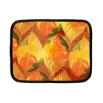 Fall Colors Leaves Pattern Netbook Case (Small)  Front