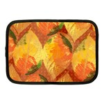 Fall Colors Leaves Pattern Netbook Case (Medium)  Front