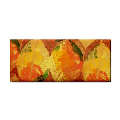 Fall Colors Leaves Pattern Hand Towel