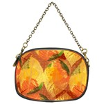 Fall Colors Leaves Pattern Chain Purses (One Side)  Front