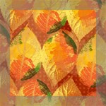 Fall Colors Leaves Pattern Mini Canvas 8  x 8  8  x 8  x 0.875  Stretched Canvas