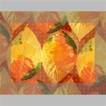 Fall Colors Leaves Pattern Mini Canvas 7  x 5  7  x 5  x 0.875  Stretched Canvas