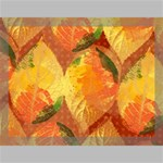 Fall Colors Leaves Pattern Canvas 16  x 12  16  x 12  x 0.875  Stretched Canvas