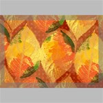 Fall Colors Leaves Pattern Canvas 18  x 12  18  x 12  x 0.875  Stretched Canvas