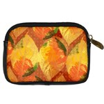 Fall Colors Leaves Pattern Digital Camera Cases Back