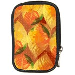 Fall Colors Leaves Pattern Compact Camera Cases Front