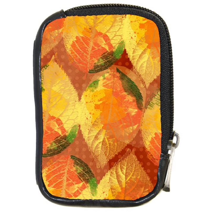 Fall Colors Leaves Pattern Compact Camera Cases